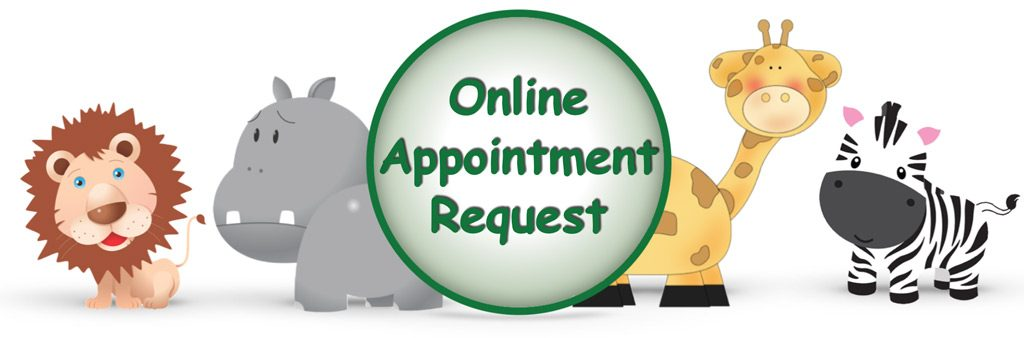 Online Appointment Request for Frisco pediatric dentist